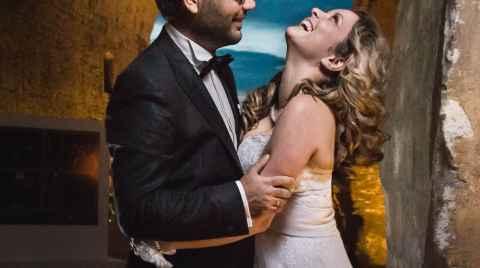 Εξώφυλλο ψυφιακού άλμπουμ του γάμου του Μανώλη και της Κάλλιας (Μανώλης Συναδινάκης Κάλλια Κλώντζα)