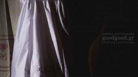 Λευκό φόρεμα βάπτισης