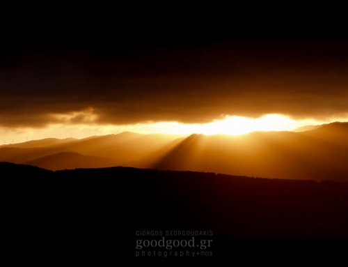 Ηλιοβάσιλεμα Στις Βουνοκορφές